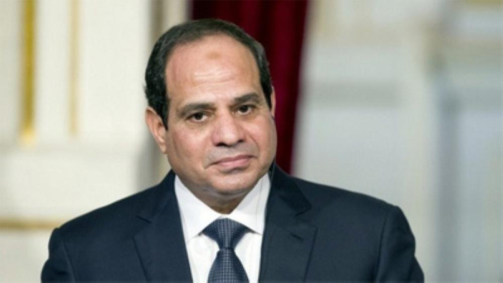 الرئيس المصري يؤكد أنه لا أحد يستطيع المساس بحصة مصر المائية