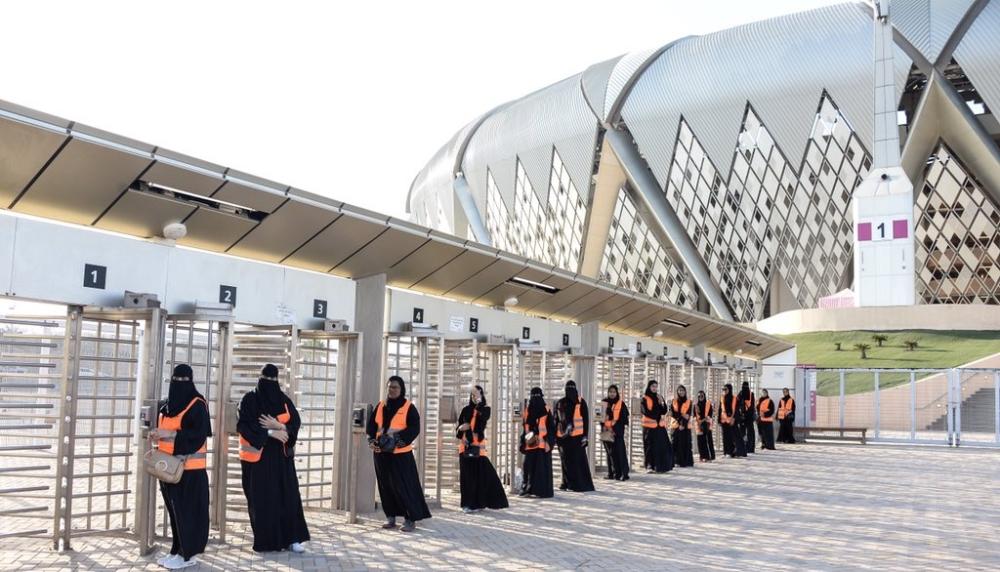 ريما بنت بندر: أدخلتم السعادة في قلب كل عائلة وامرأة سعودية بحضور المباراة الأولى
