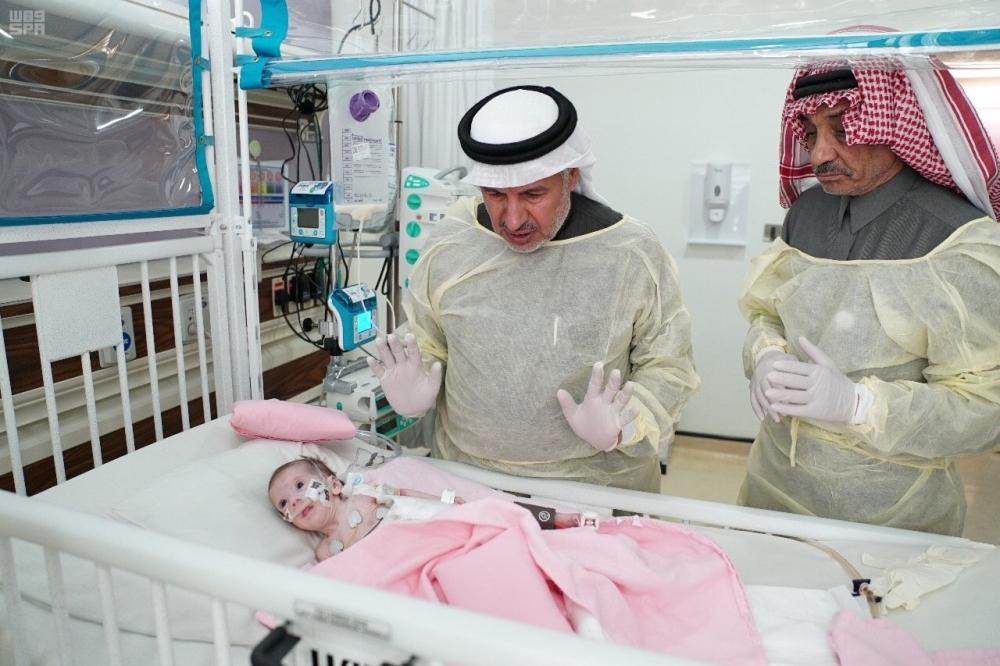 الربيعة: استقرار حالة الطفلة الفلسطينية حنين