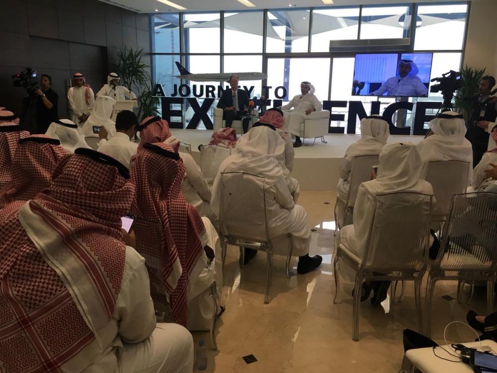 الجاسر يعلن إطلاق المشروع الاستراتيجي لتكون الخطوط السعودية ضمن Top 5 عالميًا