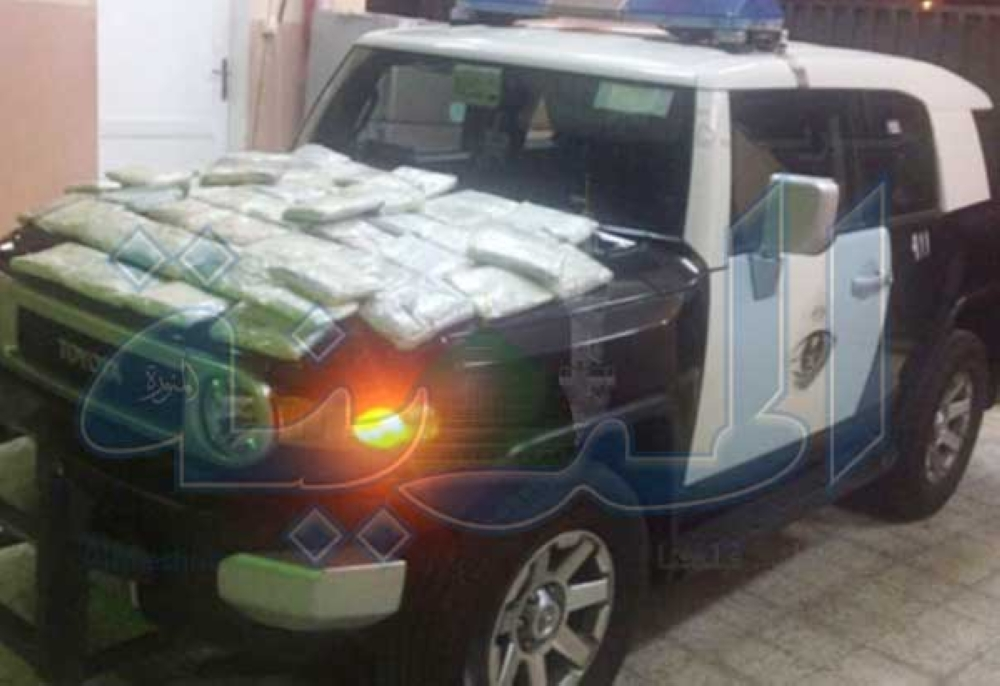 الدوريات الأمنية تضبط كمية من الحشيش في جدة