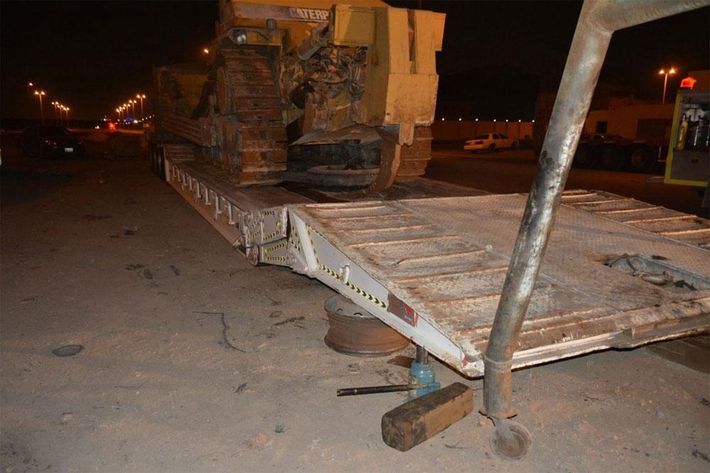 مدني جدة: وفاة شخص بعد سقوط معدة ثقيلة عليه أثناء آدائه عمله