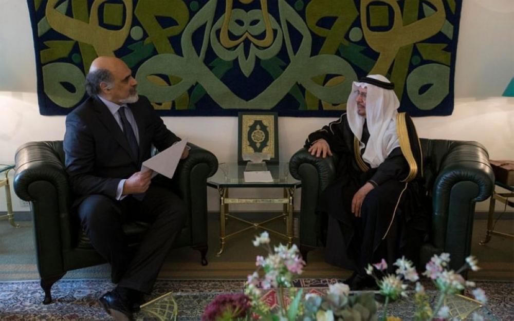 وزير الدولة للشؤون الخارجية يستقبل فيريرا و سودهن