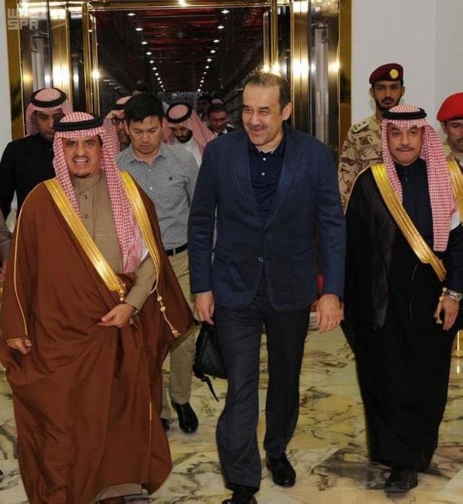رئيس الأمن القومي الكازاخستاني يصل إلى الرياض