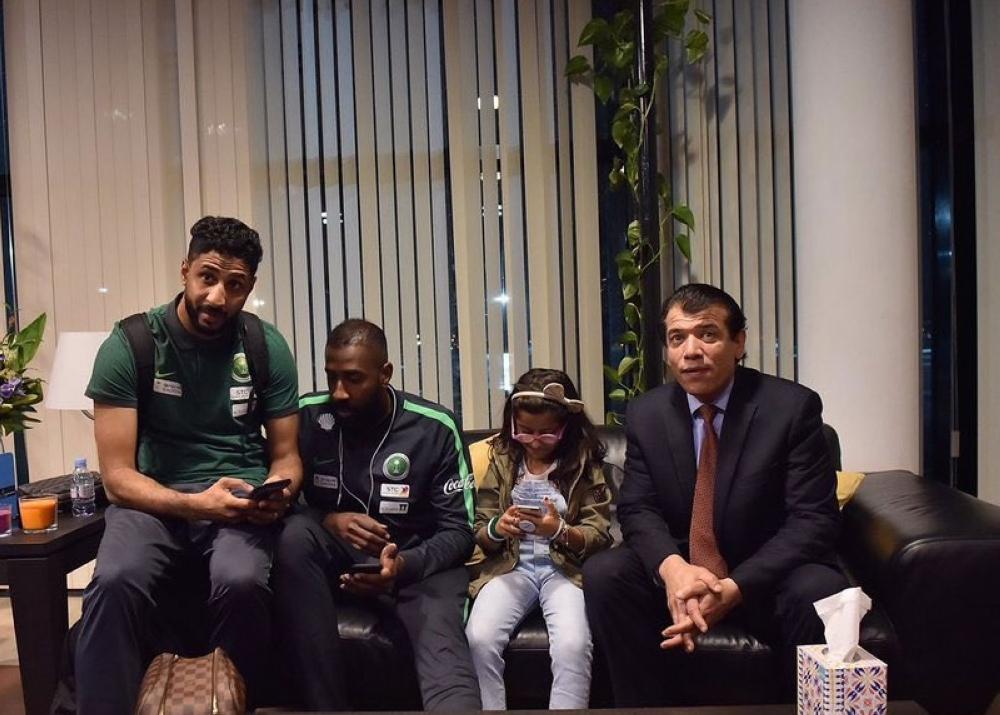 المنتخب السعودي الأول لكرة القدم يصل إسبانيا