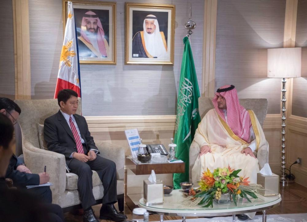 وزير الداخلية يبحث مع نظيره الفلبيني مسارات التعاون بين الجانبين