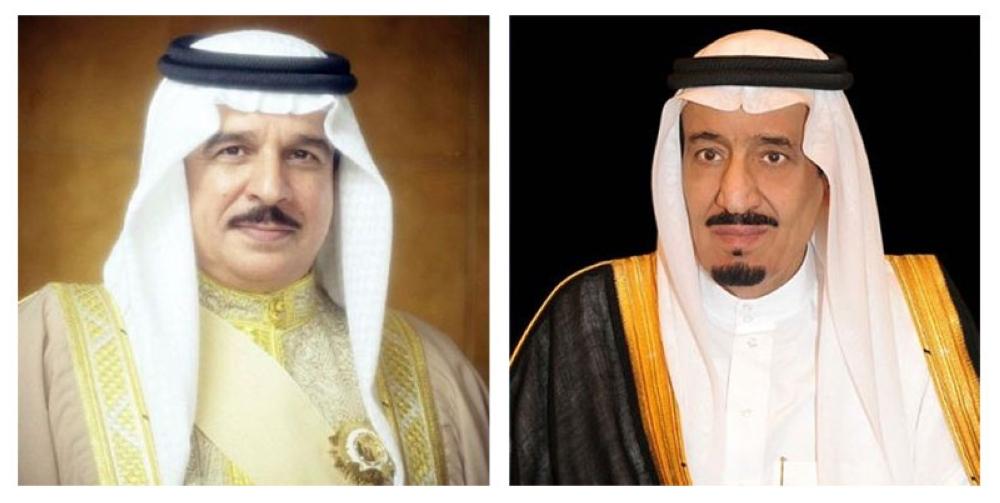 ملك البحرين يشكر خادم الحرمين على جهوده المضنية لنجاح القمة العربية
