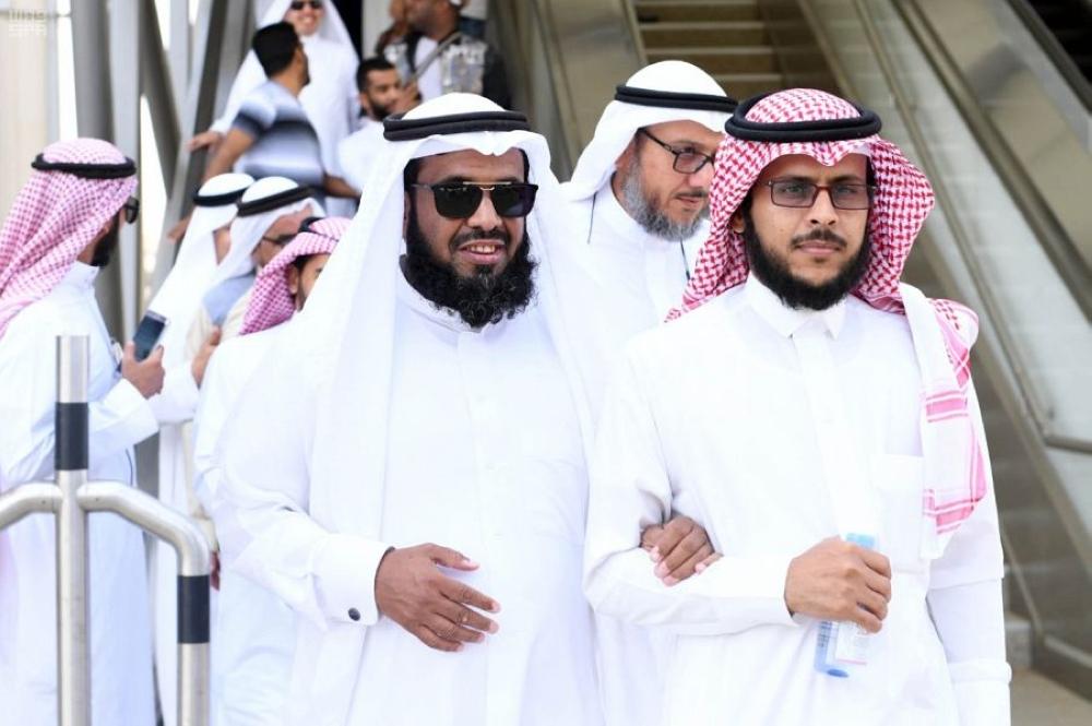 قطار الحرمين ينظم رحلة لجمعية المكفوفين الخيرية بالمدينة المنورة   رؤية   - المدينة