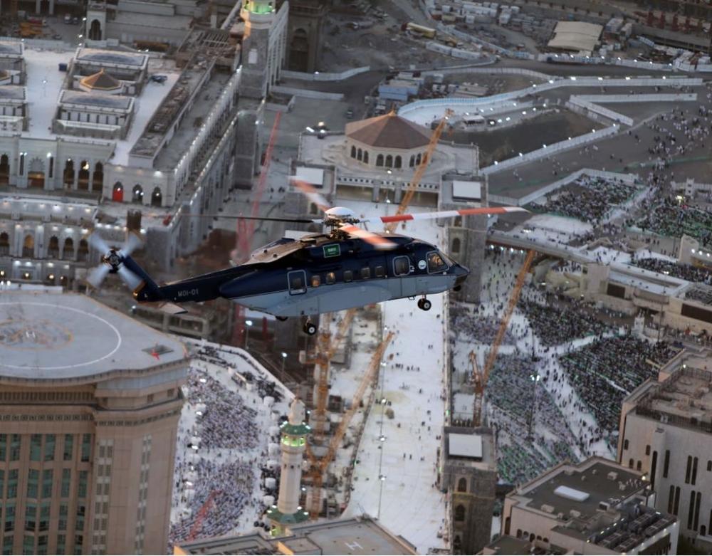 طيران الأمن يبدأ طلعاته للرصد والإسناد بمكة