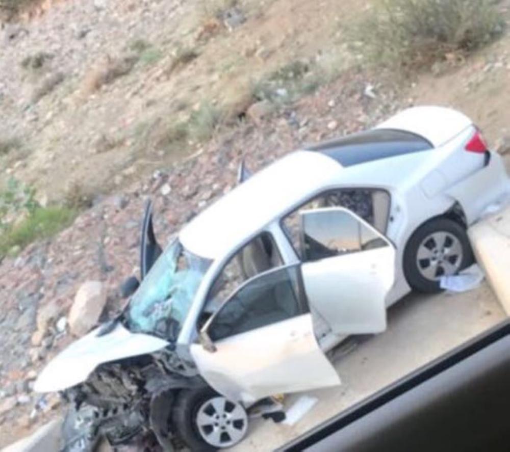 إصابة 4 من أسرة واحدة في حادث سير بطريق الجنوب