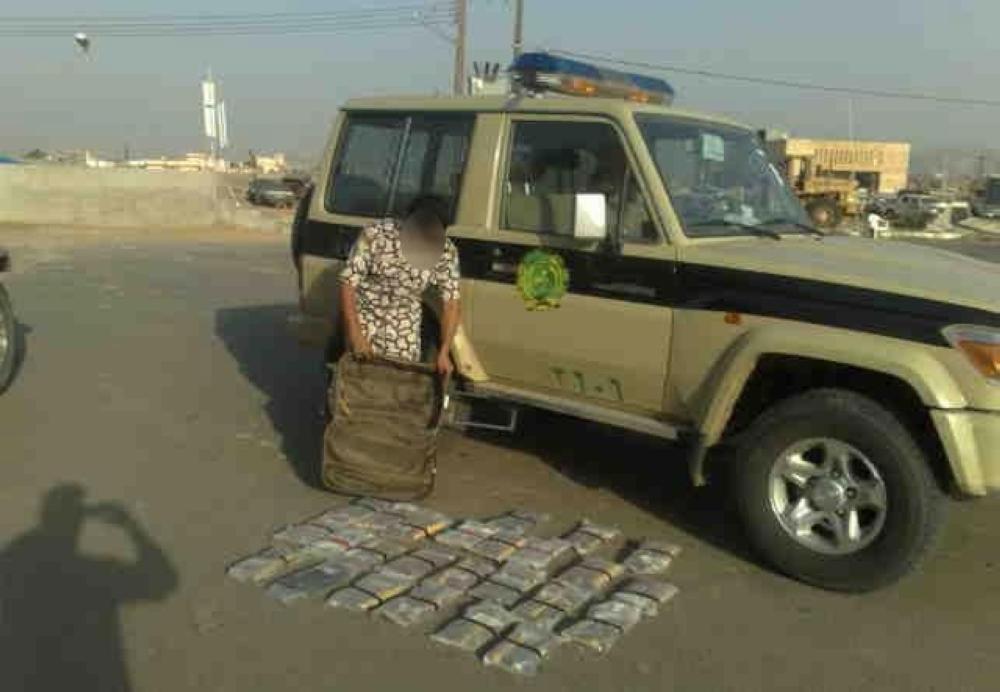 القبض على 13 مهرباً وإحباط عدد من عمليات التهريب خلال شعبان