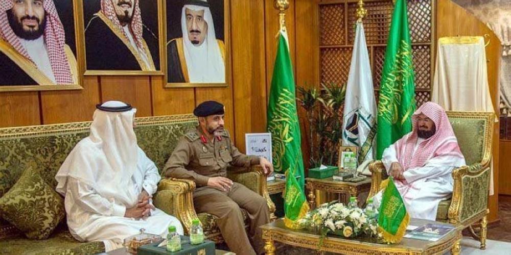 السديس يناقش استعدادات موسم الحج مع قائد قوة أمن المسجد الحرام - المدينة