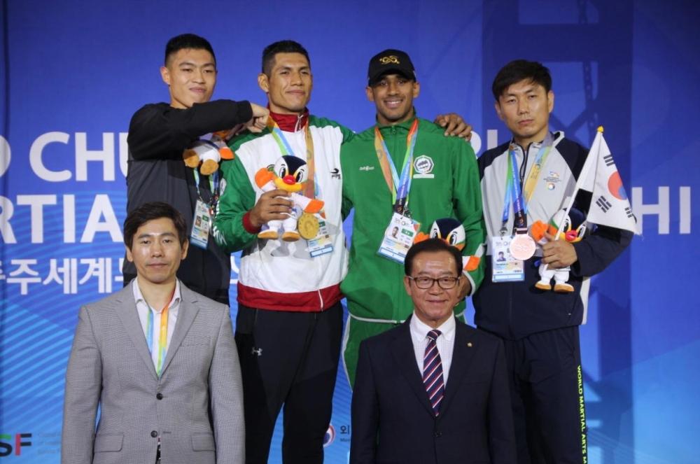 1663555 - ثلاث برونزيات للمنتخب السعودي لفنون القتال في بطولة كوريا الجنوبية