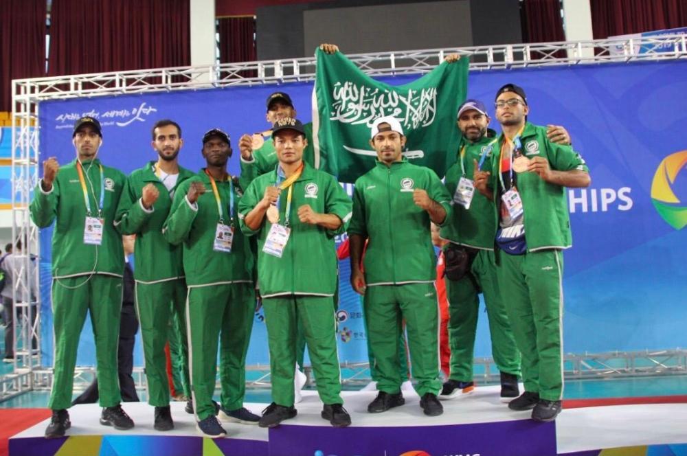1663557 - ثلاث برونزيات للمنتخب السعودي لفنون القتال في بطولة كوريا الجنوبية