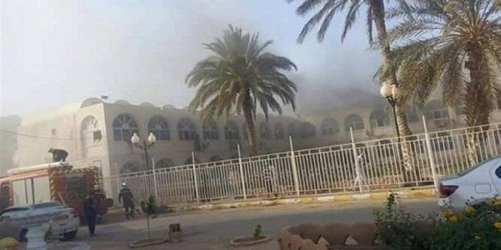 1674534 - وفاة 8 مواليد بحريق مستشفى في الجزائر