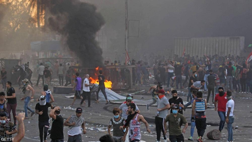1679586 - بغداد.. إطلاق الرصاص على المتظاهرين والقتلى 44