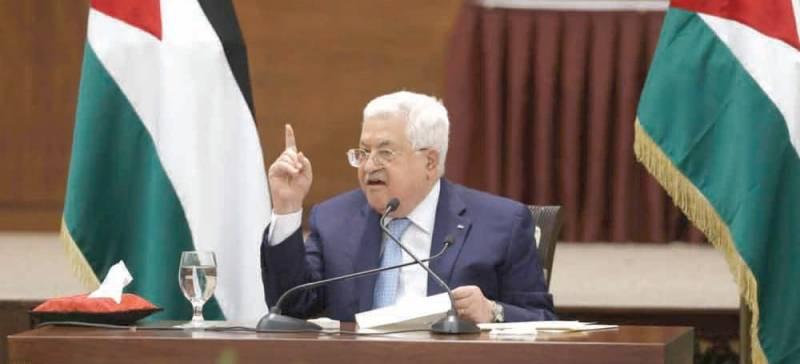 عباس: السلطة الفلسطينية