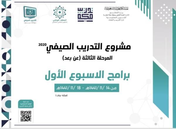 التدريب والابتعاث بتعليم مكة تطلق 350 برنامج ا تدريبي ا المدينة