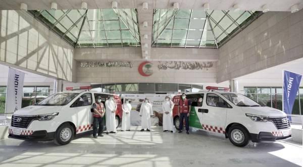 صورة هيونداي موتور تقدم 24 مركبة للدعم الطبي لهيئة الهلال الأحمر السعودي للمساعدة في مكافحة فيروس كوفيد-19