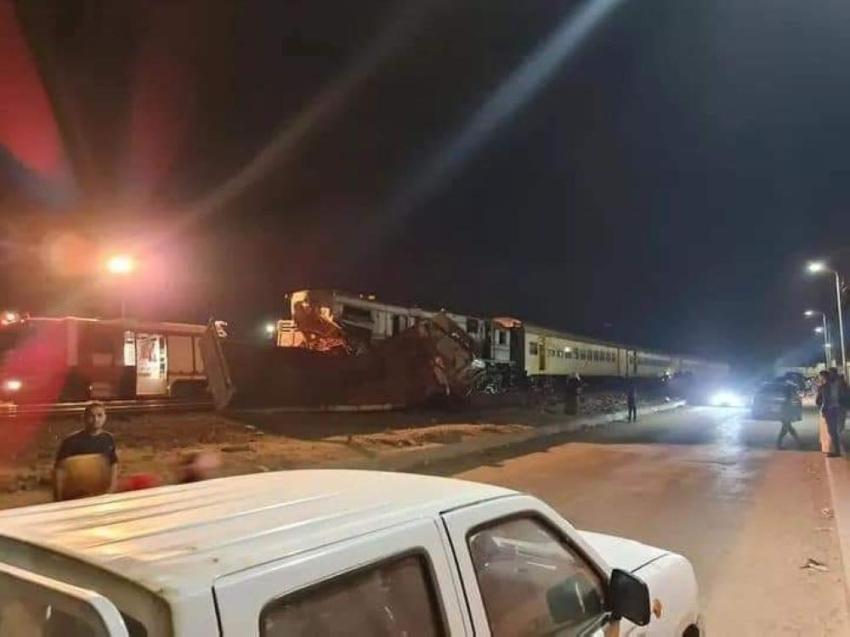 حادث قطار جديد في مصر يقتل شخصاً ويصيب آخرين
