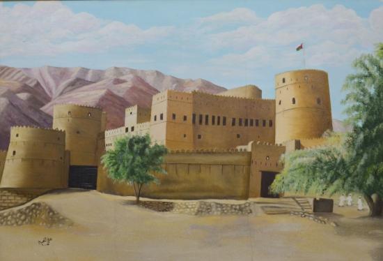 طبيعة عمانية رسم Tabiea Blog