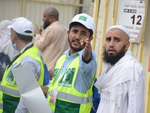 نتيجة بحث الصور عن المتطوعون في الحج