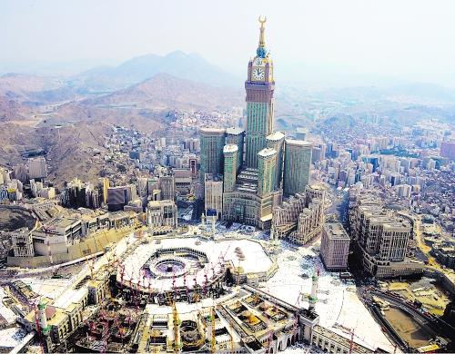 توسعة الحرمين الشريفين في العهد السعودي